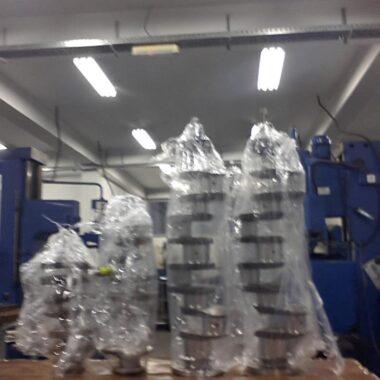 masinska obrada radilice spremne za sklapanje motora