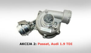 turbina vw audi 1.9 tdi