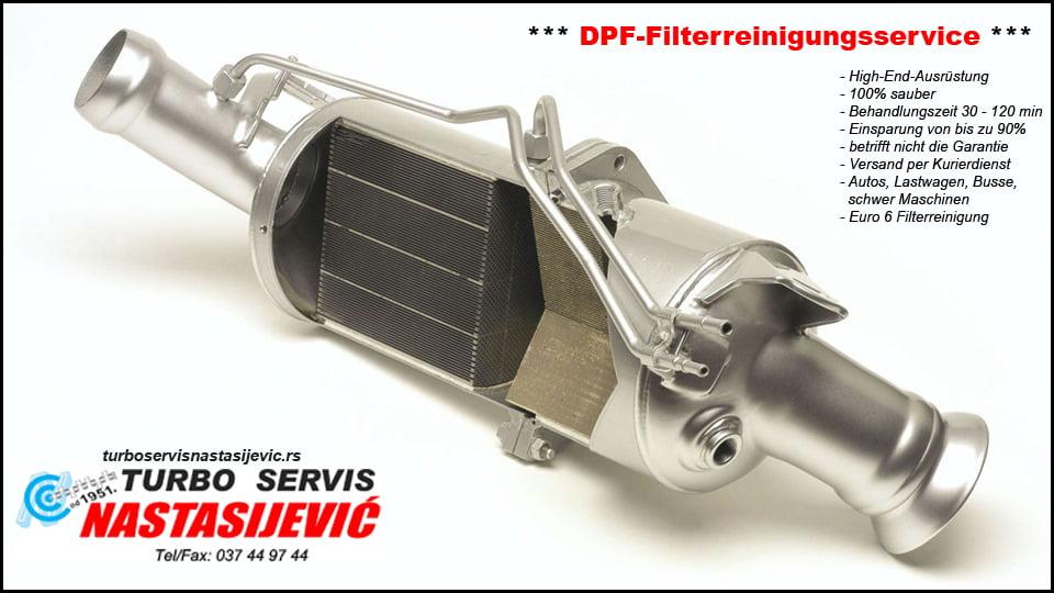 DPF-Filterreinigungsservice