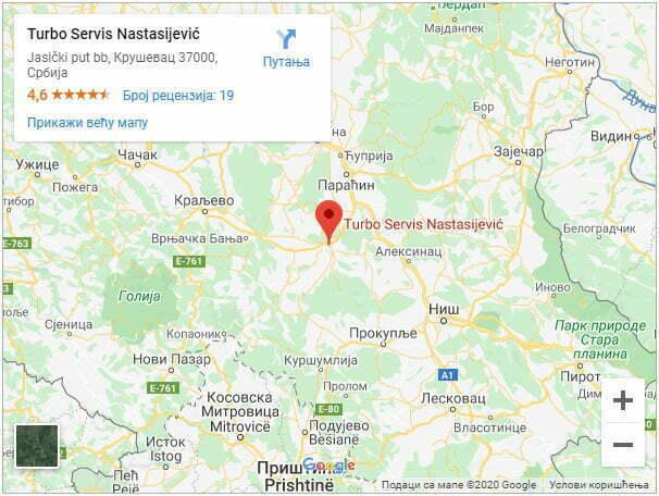 najbolji turbo servis google mapa