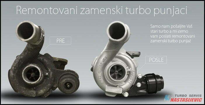 zamena stari turbo za remontovani